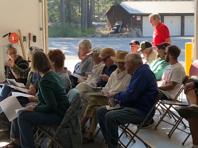 Attendees at Big Bend meeting